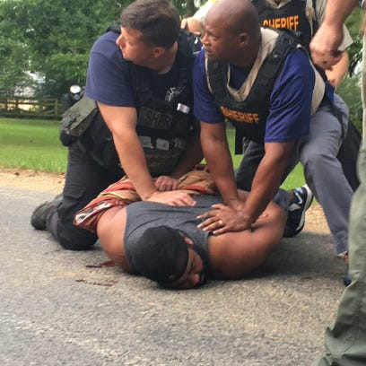 Officers from multiple jurisdictions arrested Cory