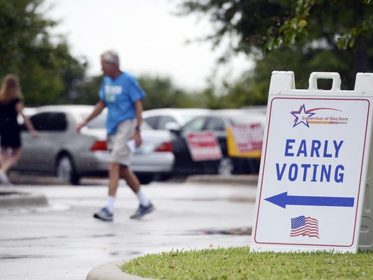 Early Voting Ends