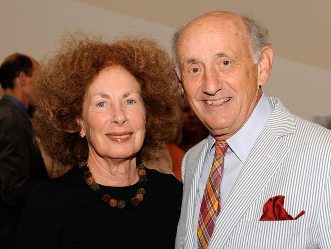 Lois and Dick Rosenthal at the Benefit Auction & Dinner at the Contemporary Arts Center in August 2011.