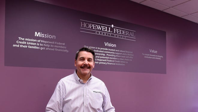 Jim Johnson, president and CEO of Hopewell Federal Credit Union,  joined the company in 1996 and became president and CEO in October 2010.