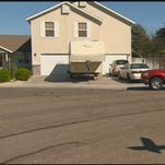Meridian Police are investigating a report of a prowler spotted near this house on N. Sheephorn Avenue early Wednesday.