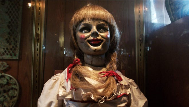 Annabelle, the doll from 'The Conjuring' actually exists. Not so scary looking in real life.
