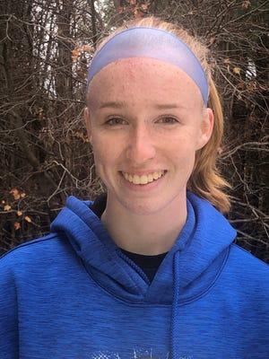 Bridgewater-Raynham goalie Emilie Fox.
