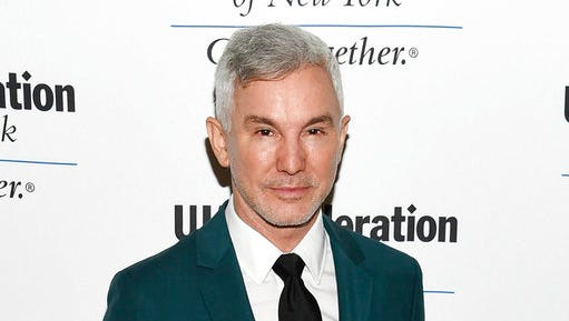"""FILE - In this June 16, 2016 file photo, director Baz Luhrmann attends the UJA-Federation of New York's """"Music Visionary of the Year Award"""" luncheon in New York. """"Moulin Rouge"""" director Luhrmann will speak to graduating seniors at Princeton. Princeton's graduating class chose him as their Class Day speaker next month. The Australian will address graduates and their guests the day before commencement."""