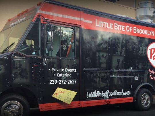 Peter Della Rocca recently launched Little Pete's, a food truck that serves items from his menu at Parmesan Pete's in Naples.