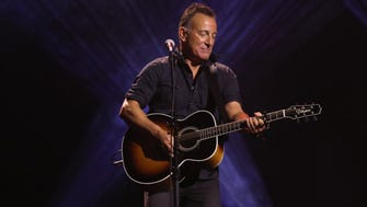 Bruce Springsteen performs during the closing ceremony of the Invictus Games 2017 at Air Canada Centre on September 30, 2017 in Toronto, Canada.