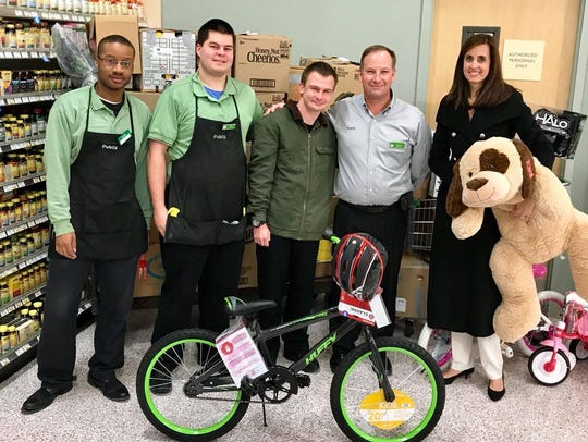 Publix collected a bounty of toys for ages one to fifteen