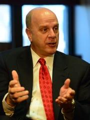 Former Bergen County Prosecutor John Molinelli.