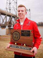 Yankton senior Matthew Mors for First Five, Wednesday, March 28, at the Meridian Highway Bridge in Yankton.