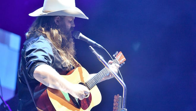 Chris Stapleton is up for eight awards at next month's Academy of Country Music Awards.