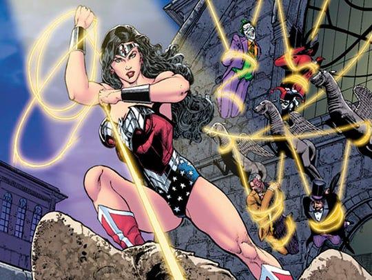 Wonder Woman Bat villains