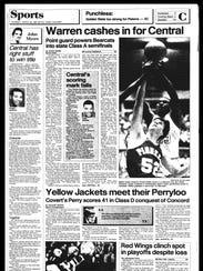 Battle Creek Sports History - Week of March 23, 1987