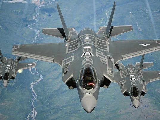 70 ARS Refuels F-35As