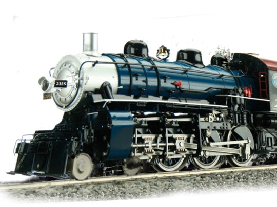 A rendering of what the steam-powered train at Pioneer