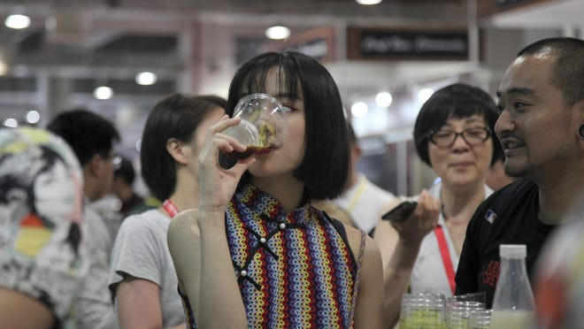 A couple of years ago, craft beer made up only 0.3 percent of total beer consumption in China. It has since risen to about 5 percent, said Darren Guo, one of the exhibition's organizers.