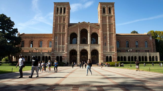 The UCLA campus in Los Angeles