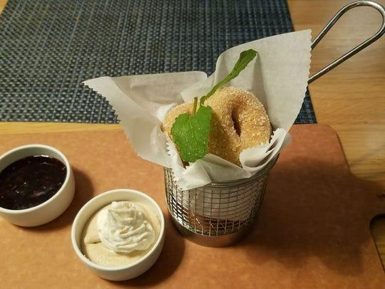 Drift Kitchen & Bar's mini donuts with raspberry jam