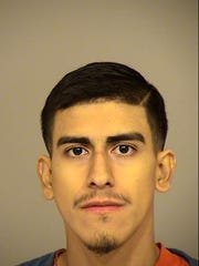 Martimiano Carrasco, 21, of Van Nuys, was arrested early Wednesday morning on suspicion of burglarizing a pharmacy in Camarillo.
