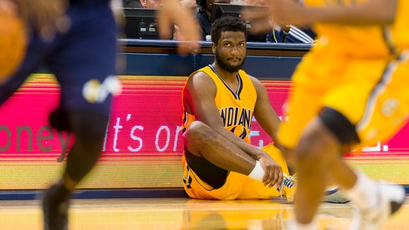 Not much of a factor as a rookie, Solomon Hill has been key for shorthanded Pacers.