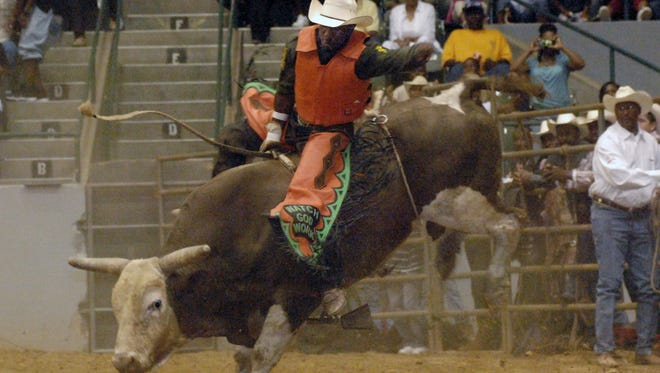 The Mississippi Black Rodeo has two shows Saturday in Jackson.