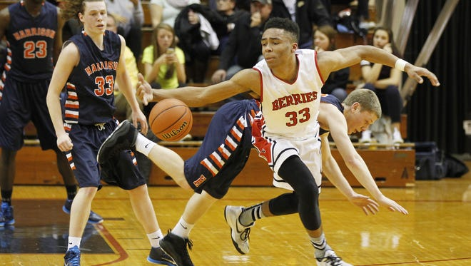Logansport's Jalen Adaway (33) was added to the Indiana All-Stars roster.