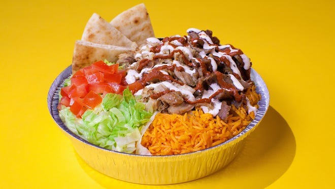 """The Halal Guys, a network of Manhattan """"halal carts,"""" will bring their iconic chicken platter, among other dishes, to the Valley this fall."""