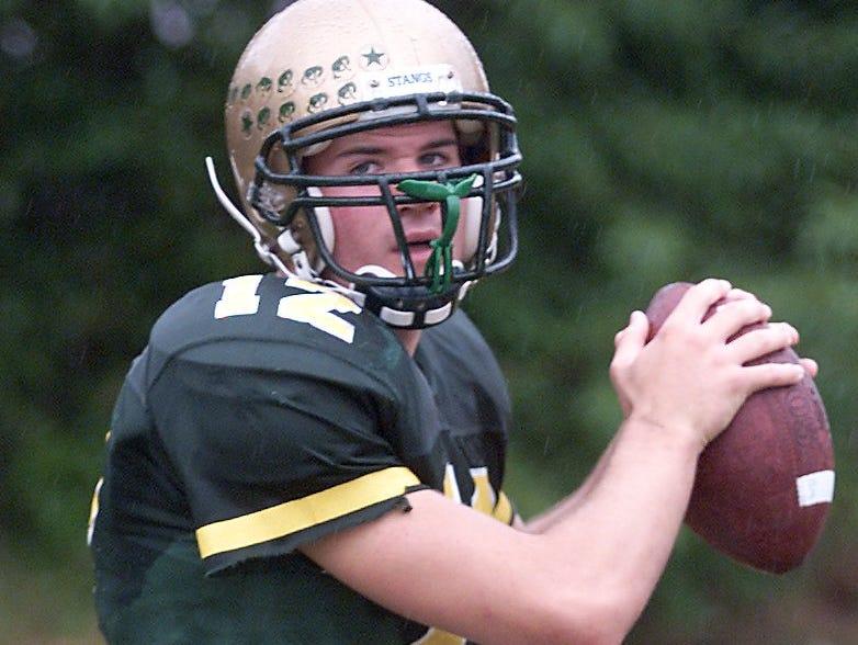 Brick Memorial quarterback Brian Boland in 2001.