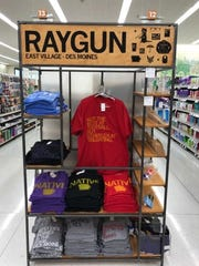 Popular East Village T-shirt merchant Raygun has about