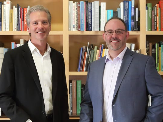 Scott Ramlow (left) and Nat Stein