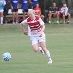 Mylene Roy-Ouellet scored in the 46th minute to help give Tech the conference road win.