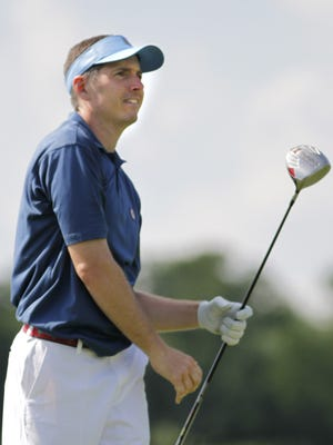 Bill Williamson during match play in the Greater Cincinnati Golf Association's Tony Blom Metropolitan Amateur Championship in 2011.