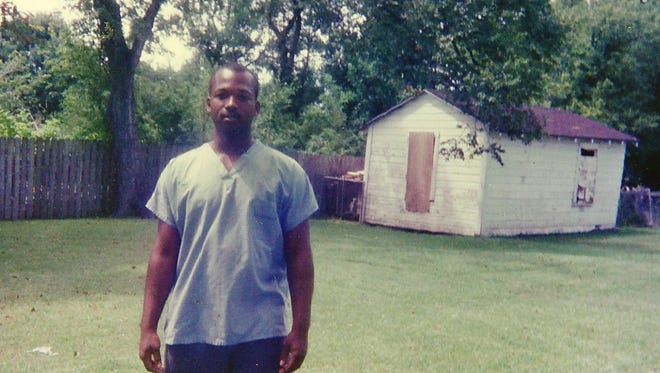 This 1990 photo provided by Curtis Griffin of his stepson Bradley Ballard shows Ballard in Houston when he was 16.  In September of 2013, 39-year-old Ballard, who was mentally ill and an inmate at the Rikers Island jail in New York, died there after being locked alone in his cell for seven days.