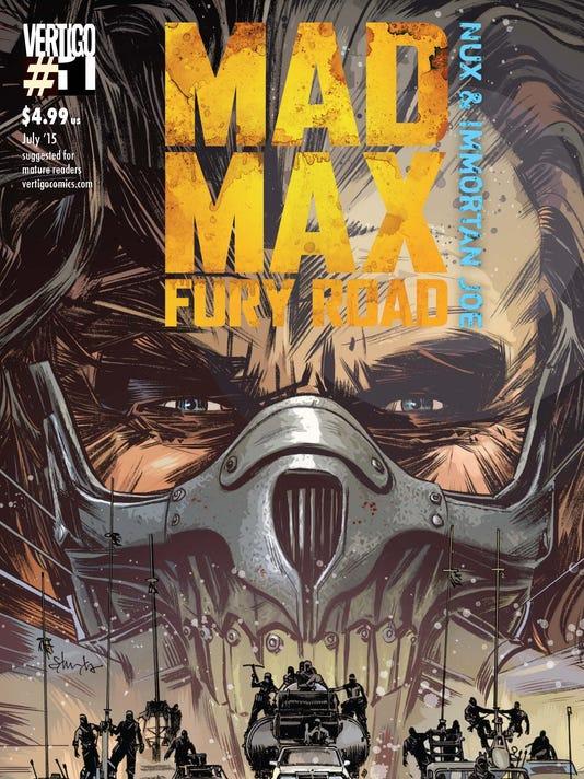 Mad Max comic cover