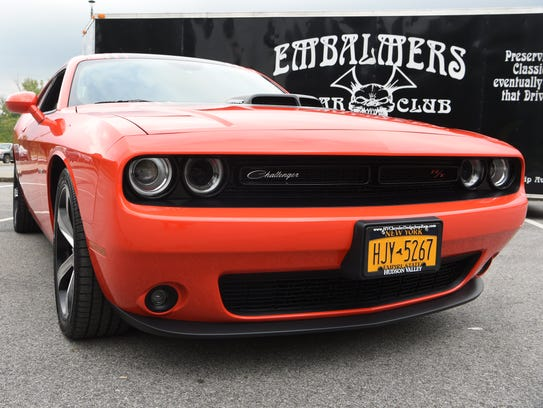 A view of Rich McElrath's 2016 Dodge Challenger.