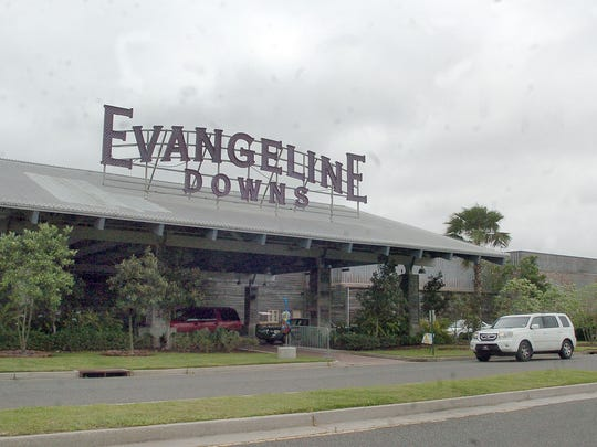 Development plans are being discussed for land around Evangeline Downs Racetrack and Casino in Opelousas.