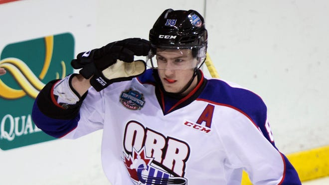 Pierre-Luc Dubois, who plays for Cape Breten of the QMJHL, has 42 goals, 99 points and 112 penalty minutes.