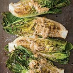 Fire up the grill for a Caesar salad