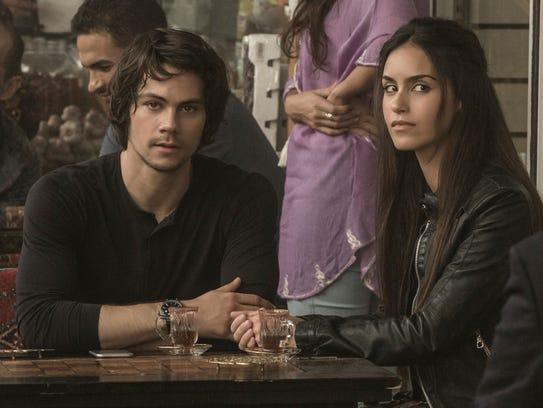 """Dylan O'Brien and Shiva Negar star in """"American Assassin."""""""
