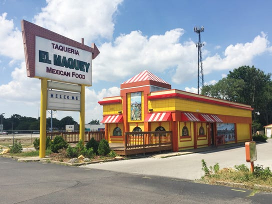 The previous location of El Maguey, opened in 2010