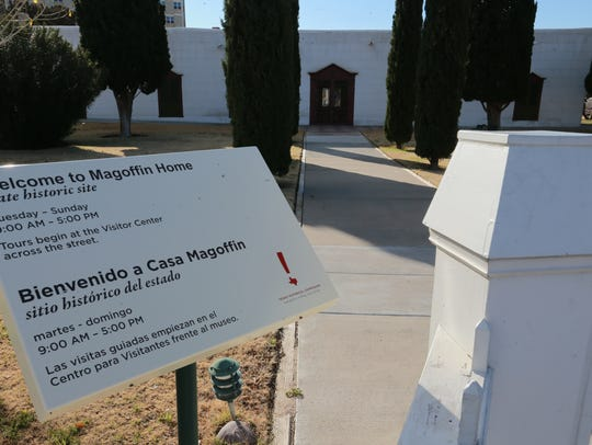 The Magoffin Home is located  in the heart of the Magoffin