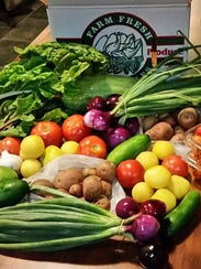 Vegetables from Raccoon Forks Farms