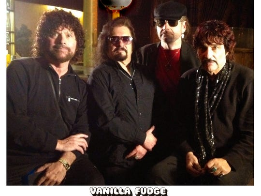 State Theatre New Jersey will present Hippiefest Tour 2018, featuring Vanilla Fudge (pictured), Rick Derringer, Mitch Ryder and The Detroit Wheels, and Badfinger featuring Joey Molland at 8 p.m. on Thursday, July 26, State Theatre New Jersey, New Brunswick. Tickets are$29 to $59.