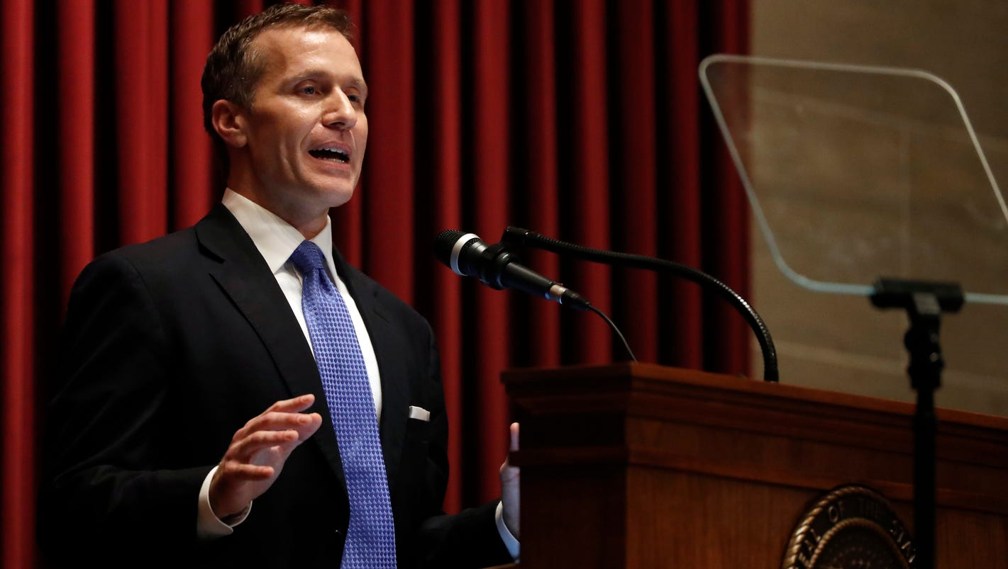 Blackmail allegations prompt investigation of Missouri governor