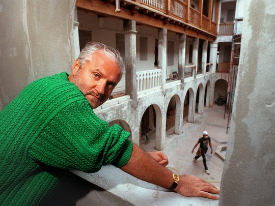 Gianni Versace is shown in this March 16, 1993 file