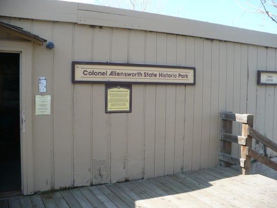 Clo. Allensworth State Park visitors' center.