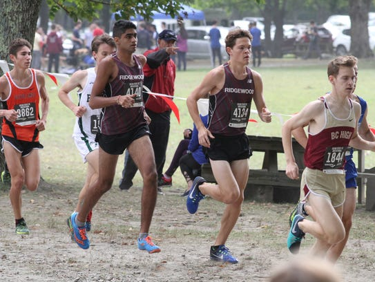 Ridgewood boys cross-country were the No. 1 team in