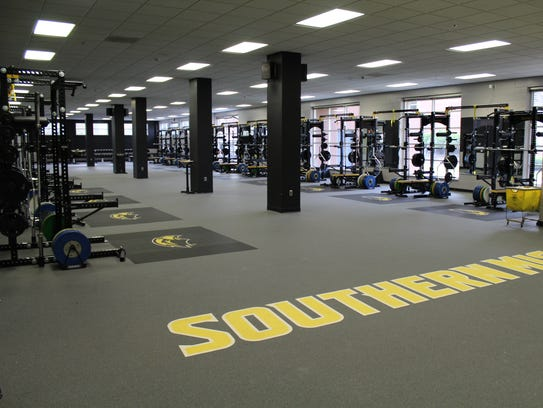 Southern Miss Recently Completed Its Weight Room Renovation