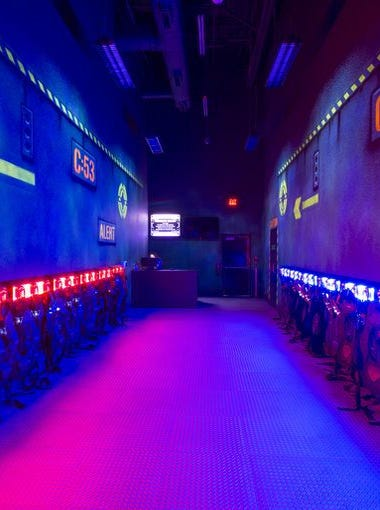 Main Event Entertainment is a funhouse of activities including bowling, laser tag, rope climbing, billiards and video games. The center opened Monday, Feb. 8, 2016 in Avondale. Here are seven reasons to check it out.