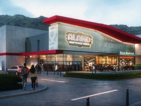 This rendering shows what the Alamo Drafthouse Cinema-Montecillo