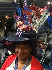 Lavon Bracy of Orlando, Fla., is a Clinton supporter,